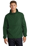 Packable Anorak Forest Green Thumbnail