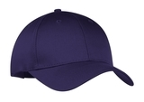 6-panel Twill Cap Purple Thumbnail