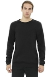 BELLACANVAS Unisex Sponge Fleece Raglan Sweatshirt Black Thumbnail