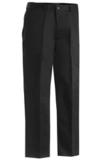 Men's Flat Front Chino Pant Black Thumbnail