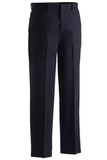 Men's Flat Front Poly / Wool Pant Navy Thumbnail