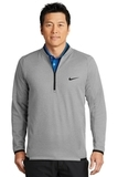 Nike Golf Therma-FIT Textured Fleece 1/2-Zip Grey Thumbnail