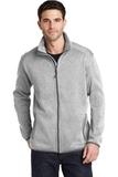 Sweater Fleece Jacket Grey Heather Thumbnail
