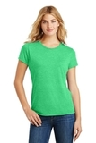 Women's Made Perfect Tri Crew Tee Green Frost Thumbnail