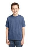 Youth 50/50 Cotton / Poly T-shirt Vintage Heather Blue Thumbnail
