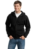 Super Sweats Full-zip Hooded Sweatshirt Black Thumbnail