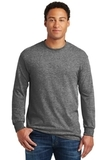 Heavy Cotton 100 Cotton Long Sleeve T-shirt Graphite Heather Thumbnail