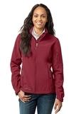 Women's Eddie Bauer Soft Shell Jacket Rhubarb Red Thumbnail