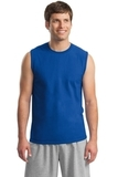 Ultra Cotton Sleeveless T-shirt Royal Thumbnail