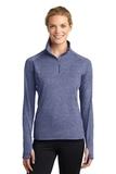 Women's Stretch 1/2-zip Pullover True Navy Heather Thumbnail