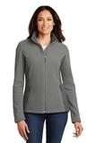 Women's Colorblock Value Fleece Jacket Deep Smoke with Battleship Grey Thumbnail