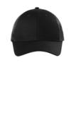Low-Profile Snapback Trucker Cap Black Thumbnail
