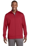 Sport-Wick Fleece Full-Zip Jacket Deep Red Thumbnail