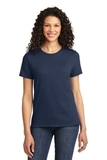 Women's Essential T-shirt Navy Thumbnail