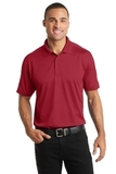 Diamond Jacquard Polo Rich Red Thumbnail