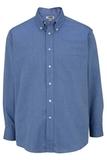 Men's Dress Button Down Oxford LS French Blue Thumbnail