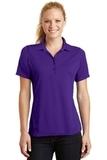 Women's Dry Zone Raglan Accent Polo Shirt Purple Thumbnail