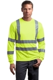 Ansi Class 3 Long Sleeve Snag-resistant Reflective T-shirt Safety Yellow Thumbnail