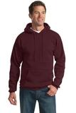 Pullover Hooded Sweatshirt Maroon Thumbnail