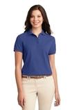 Women's Silk Touch Polo Shirt Mediterranean Blue Thumbnail