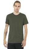 BELLACANVAS Unisex Jersey Short Sleeve Tee Army Thumbnail