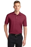 Sport-Tek Heather Contender Polo Cardinal Heather Thumbnail