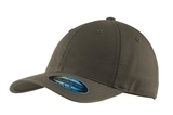 Flexfit Garment Washed Cap Olive Thumbnail