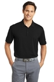 Nike Golf Dri-FIT Vertical Mesh Polo Black Thumbnail