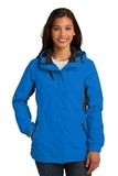 Women's Cascade Waterproof Jacket Imperial Blue with Black Thumbnail