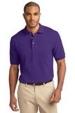 100% Cotton Polo Shirt Purple Thumbnail