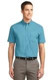Short Sleeve Easy Care Shirt Maui Blue Thumbnail
