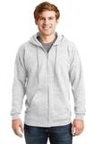 Ultimate Cotton Full-zip Hooded Sweatshirt Ash Thumbnail