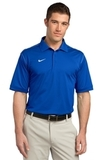 Nike Golf Shirt Dri-FIT Sport Swoosh Pique Blue Sapphire Thumbnail