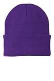 Knit Cap Athletic Purple Thumbnail