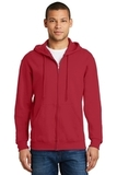 Full-zip Hooded Sweatshirt True Red Thumbnail