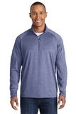 Sport-wick Stretch 1/2-zip Pullover True Navy Heather Thumbnail
