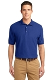 Tall Sized Silk Touch Polo Shirt Royal Thumbnail
