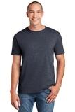 Softstyle Ring Spun Cotton T-shirt Heather Navy Thumbnail