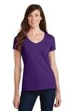 Women's Fan Favorite V-Neck Tee Team Purple Thumbnail