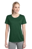 Women's Heather Contender Scoop Neck Tee Forest Green Heather Thumbnail