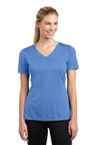 Women's V-neck Competitor Tee Carolina Blue Thumbnail