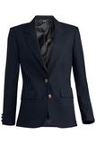 Women's Single Breasted Blazer Navy Thumbnail