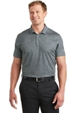 Nike Golf Dri-FIT Crosshatch Polo Cool Grey with Anthracite Thumbnail
