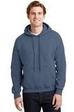Heavyblend Hooded Sweatshirt Indigo Blue Thumbnail