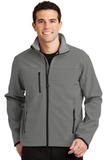 Glacier Soft Shell Jacket Smoke Grey with Chrome Thumbnail