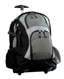 Wheeled Backpack Dark Grey with Black Thumbnail