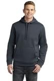 Sport-tek Repel Hooded Pullover Graphite Thumbnail