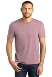 District Made Perfect Tri Crew Tee Heathered Lavender Thumbnail