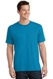 5.5-oz 100 Cotton T-shirt Neon Blue Thumbnail
