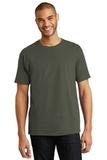 Tagless 100 Comfortsoft Cotton T-shirt Fatigue Green Thumbnail